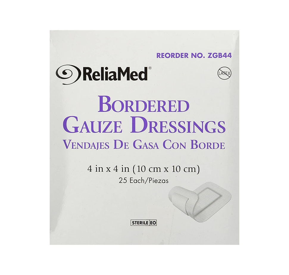 Reliamed Sterile Bordered Gauze